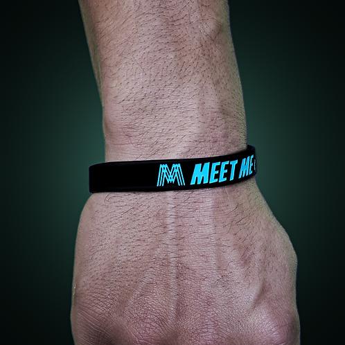 Meet Me on Marcie Wristband