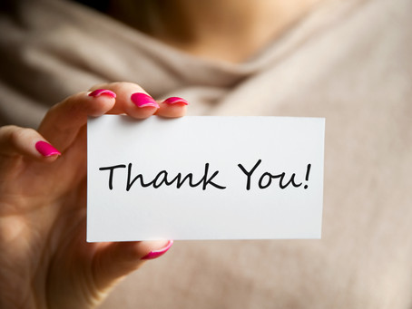 """Inspirerend leiders zeggen graag """"Dank u""""!"""