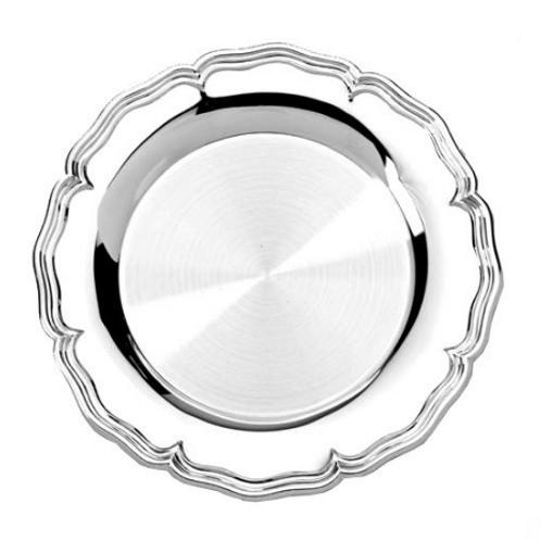 Salva revestida a prata