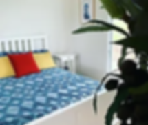 Olen Cabin Bedroom at Meandering Farm_jp