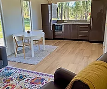 Living Area Olen Cabin Meandering Farm_j