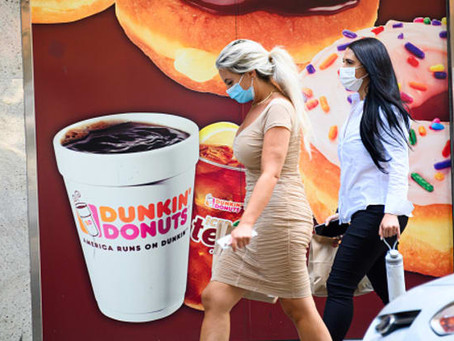 2020年美国餐饮业变天,连锁品牌巨头Dunkin Donut 将被收购!
