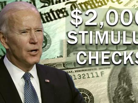 重磅!(第三轮刺激纾困法案)实时更新!拜登新政府1.9万亿美元刺激计划细节来了:再发1400美元支票,上调15美元最低时薪等!