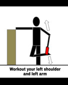Shoulders and arms exercises with Workout Helpers