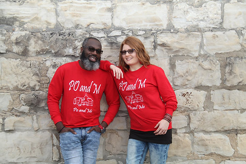 PO and M Unisex Sweaters