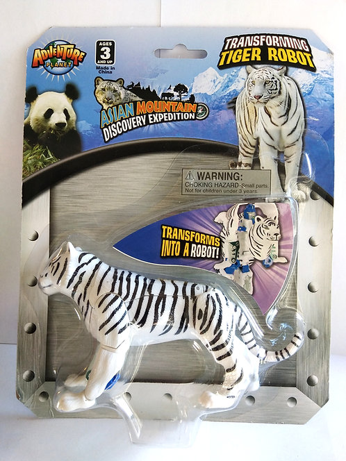 Transforming Tiger Robot