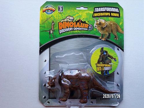 Transforming TriceratopsRobot