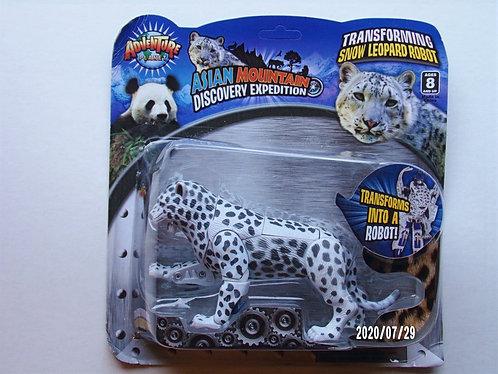 Transforming Snow LeopardRobot