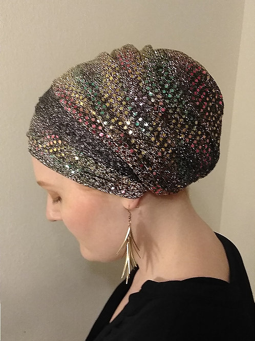Sequin Head Scarfs