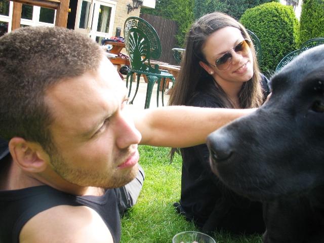 Burt the dog