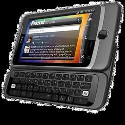 HTC Desire Z for Hurst twitter movie
