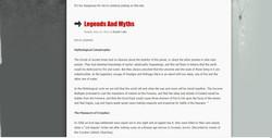 Undercover Druid - fake website