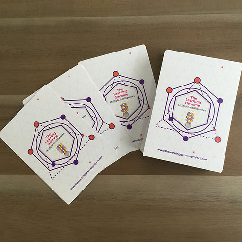Multiple Intelligence Strengths Card Set