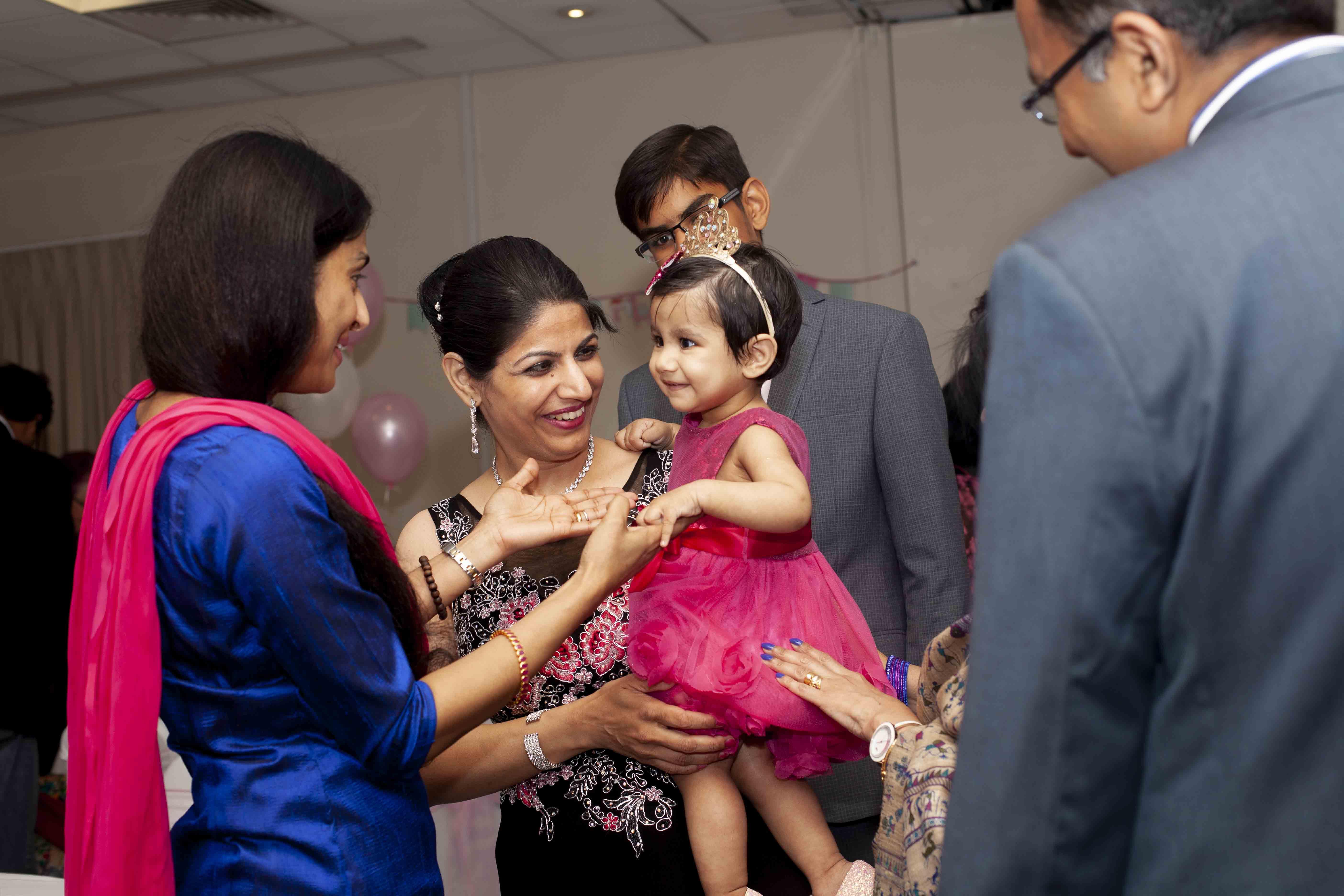 Ashiya's 1st Birthday day