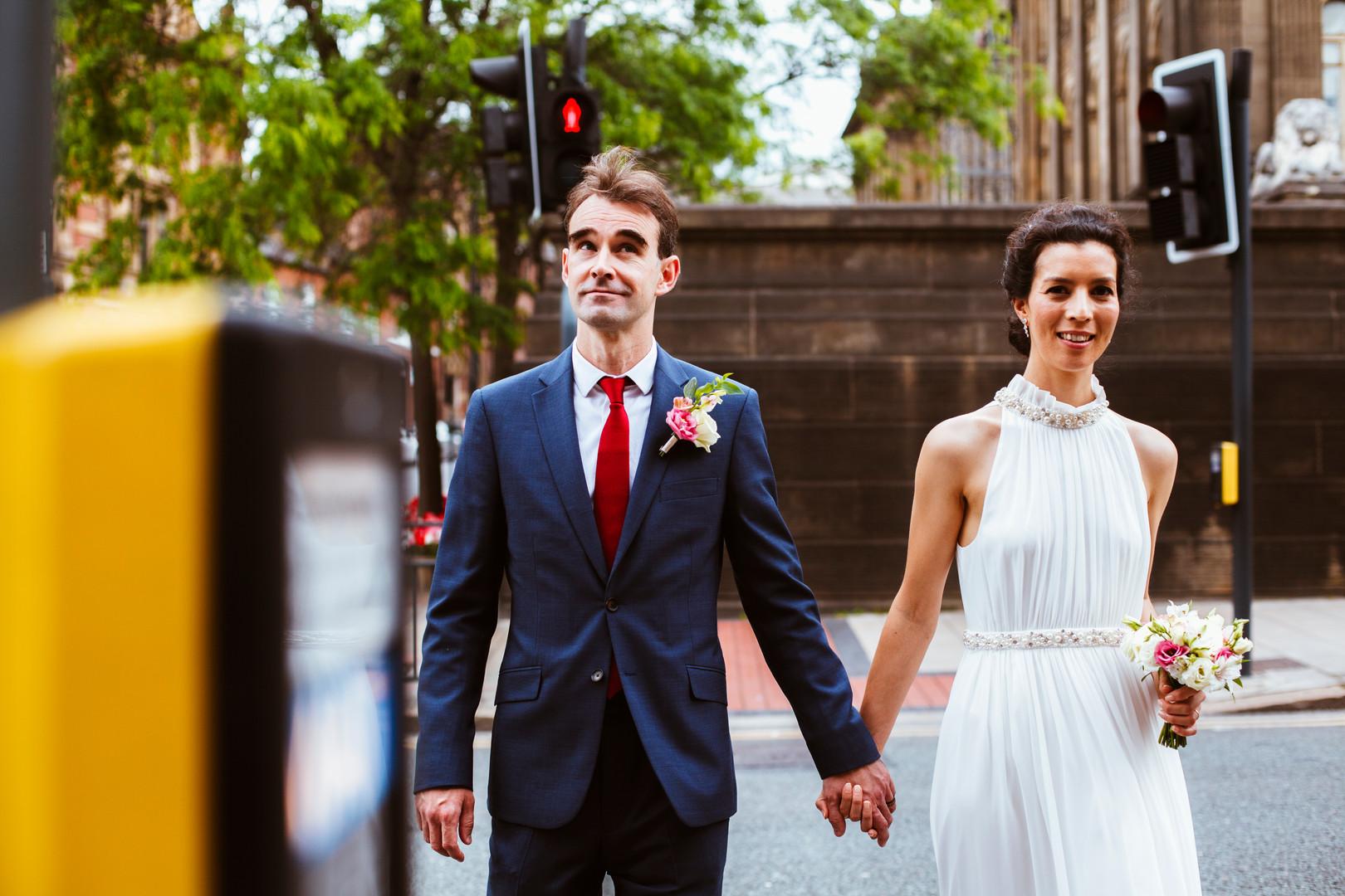 Steph and Mark's Leeds Town Hall Wedding