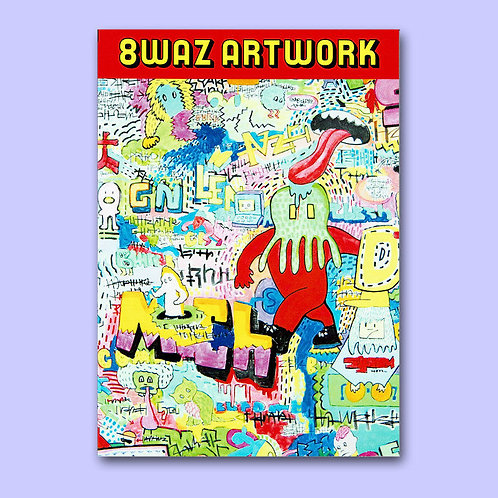 NUEZZZ 8WAZ ARTWORK ARCHIVE Vol.1