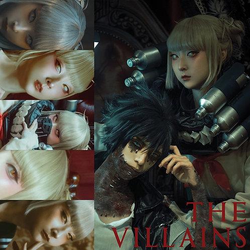 "RinRin Doll [Toga set] ""THE VILLAINS"" (Toga Postcard + Photo Book + Polaroid)"