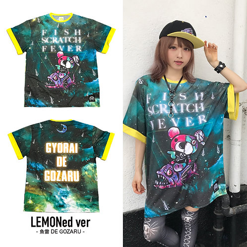 HYPERCORE x LEMONed FISH SCRATCH FEVER T-Shirt