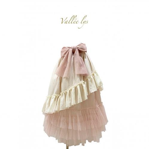 ATELIER PIERROT Vallée lys Tulle Frill Skirt