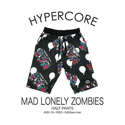 HYPERCORE MAD LONELY ZOMBIES Shorts