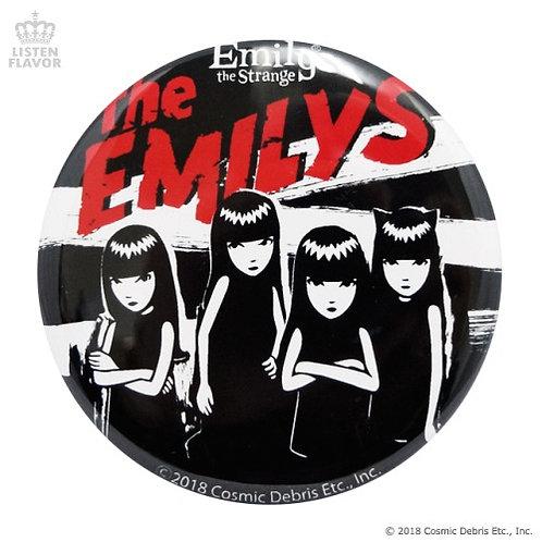LISTEN FLAVOR x EMILY THE STRANGE THE EMILYS Button