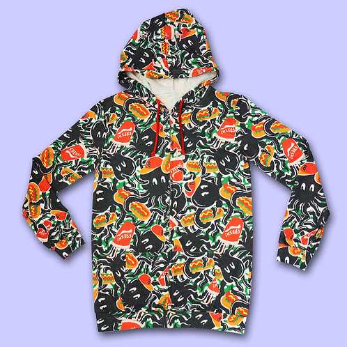 NUEZZZ EiGHT ARMS ALL OVER Hoodie