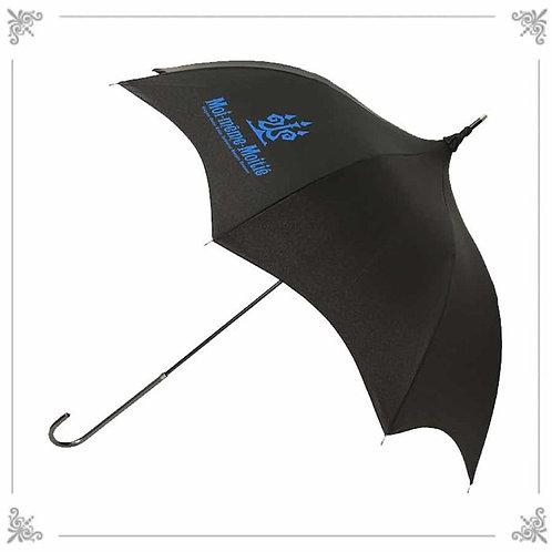 Moi-même-Moitié Candelabra Logo Umbrella