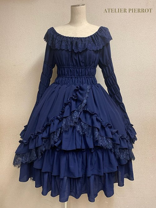 ATELIER PIERROT Princess Sleeve Babydoll Dress