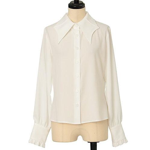 Moi-même-Moitié Bat Collar Blouse (Ladies')