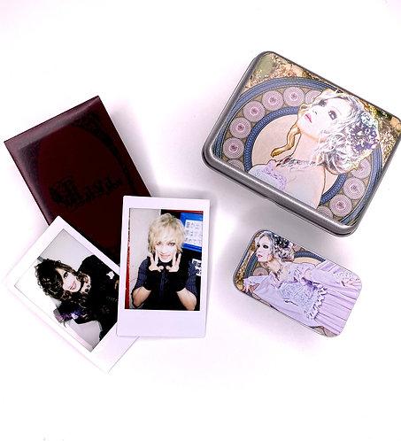 Kaya Yumeji Metal Tin Set with Polaroid