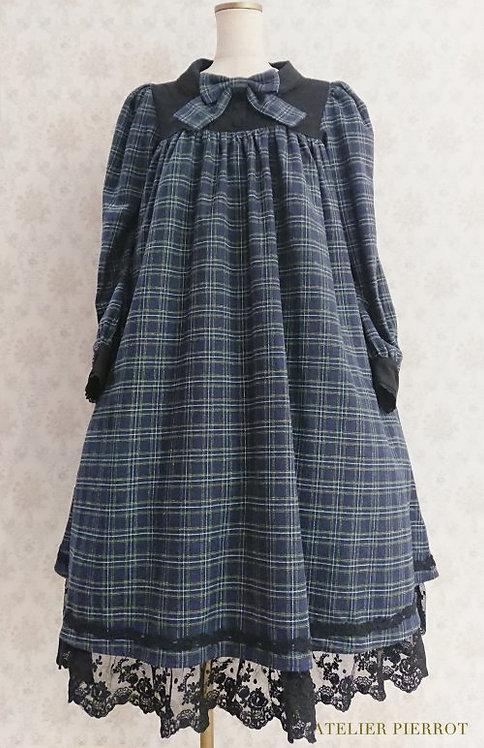 ATELIER PIERROT Amabile Checker Dress