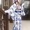 Thumbnail: Moi-même-Moitié Blue Rose Yukata