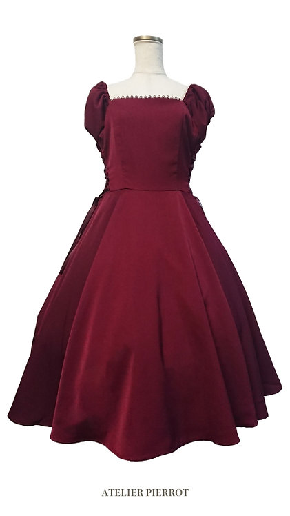 ATELIER PIERROT Double Lace-up Dress
