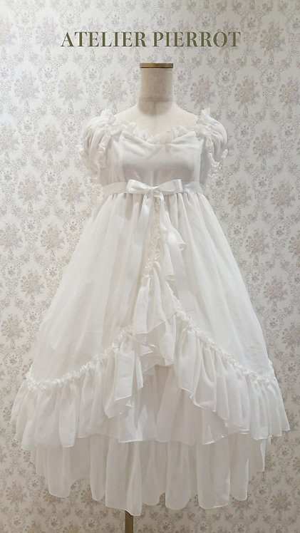 ATELIER PIERROT Chiffon Baby Doll Dress