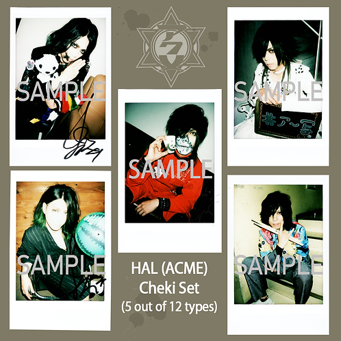 ACME HAL Sweet Memories Cheki Random 5-Set