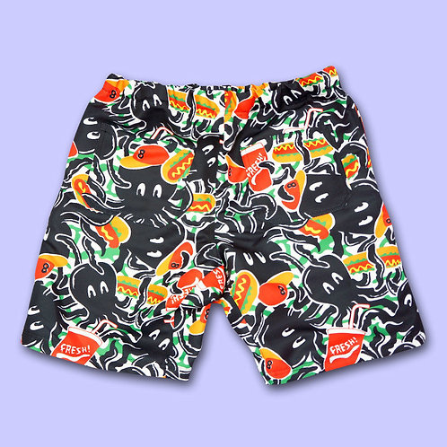 NUEZZZ EiGHT ARMS Short Pants