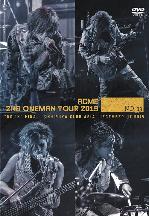 "ACME LIVE DVD ""2nd ONEMAN TOUR -No.13-"" (Autographed)"