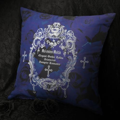 Moi-même-Moitié Shantung Cushion Cover