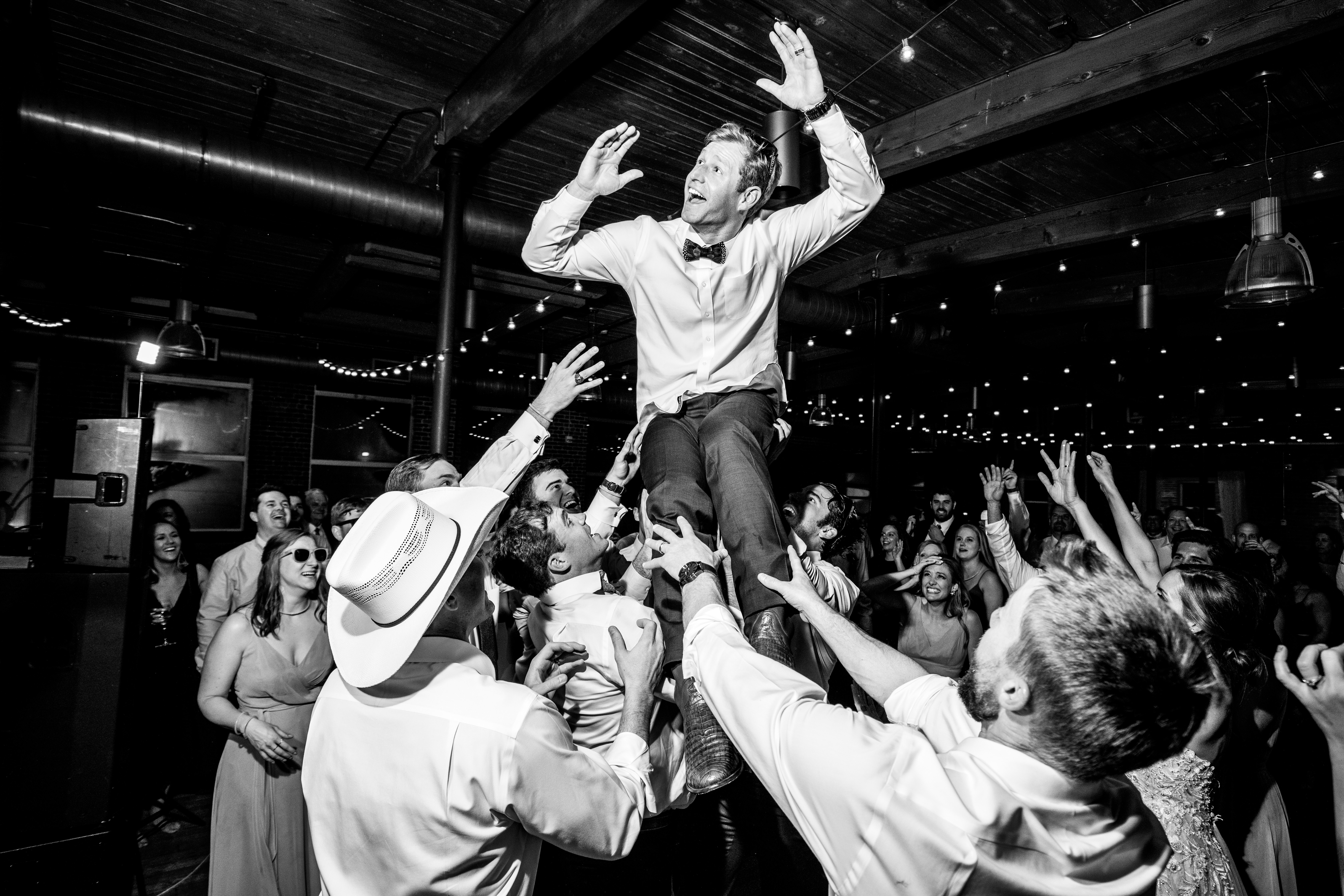 Huguenot Loft Wedding Reception