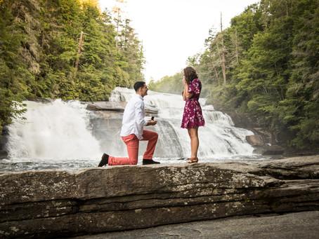 Waterfall Proposal:  Mike + Paige