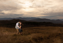 Max Patch Sunset engagement