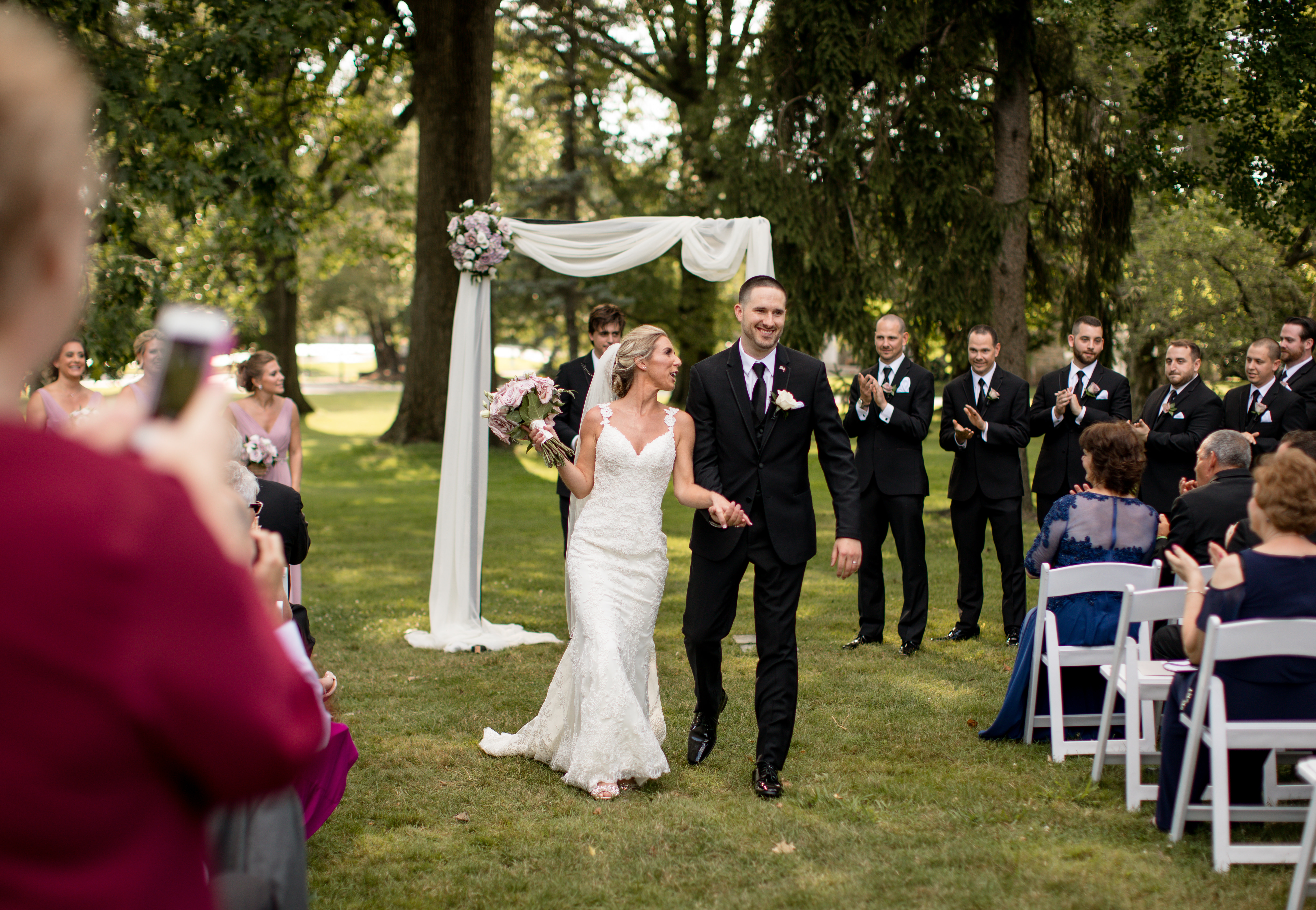 Wedding Ceremony Newtown Square