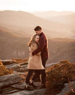 Intimate Hawksbill Engagement