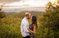 Sunrise engagement Asheville