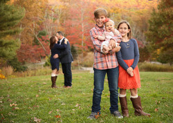 Fall family photos nc arboretum