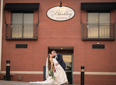 Bleckley Station Wedding Anderson, SC : S + K