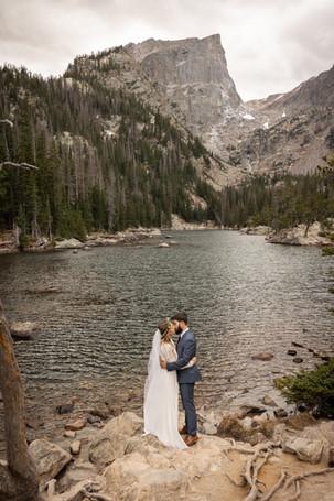 Dream Lake Elopement Rocky Mountains