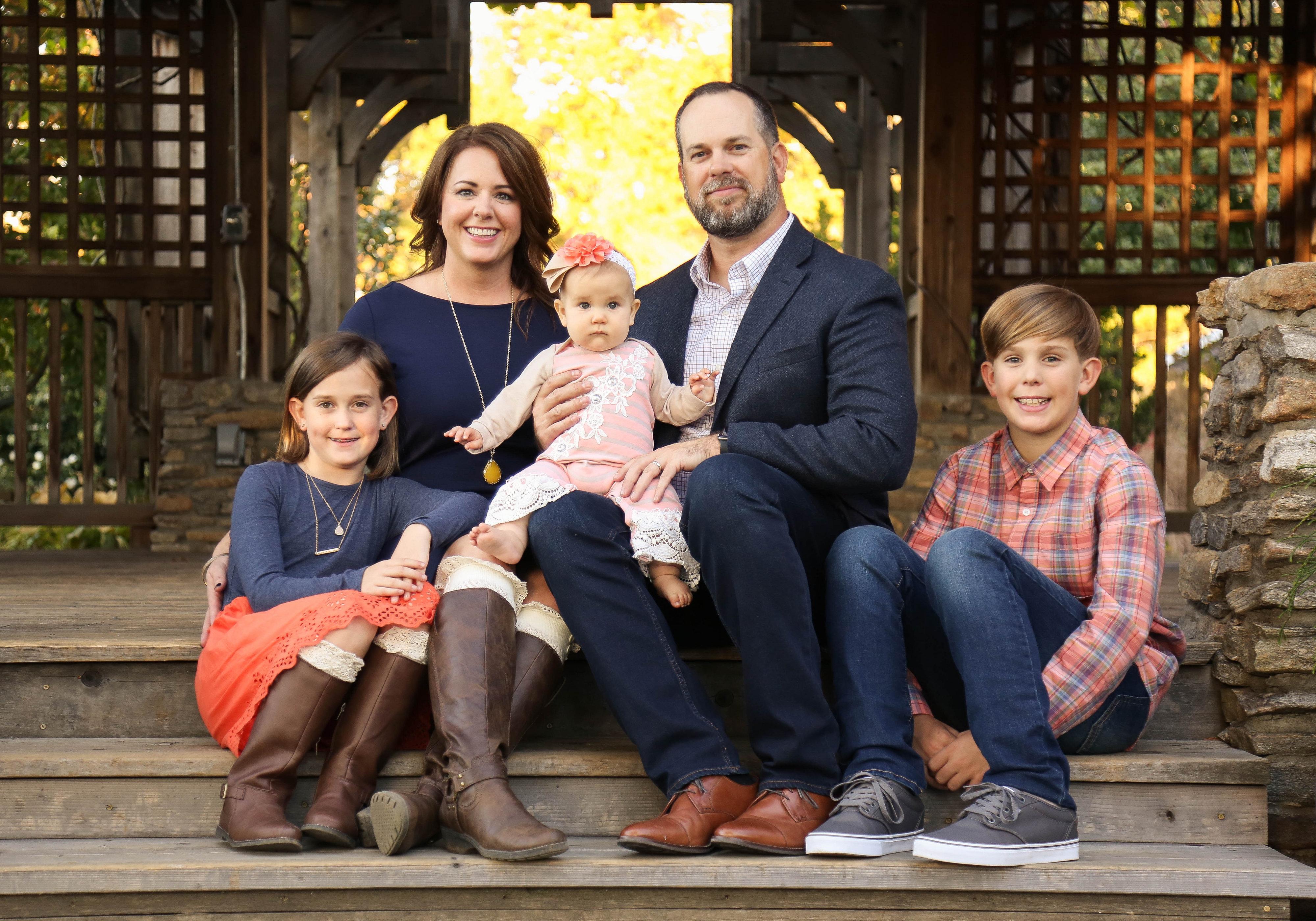 Family Photos NC Arboretum