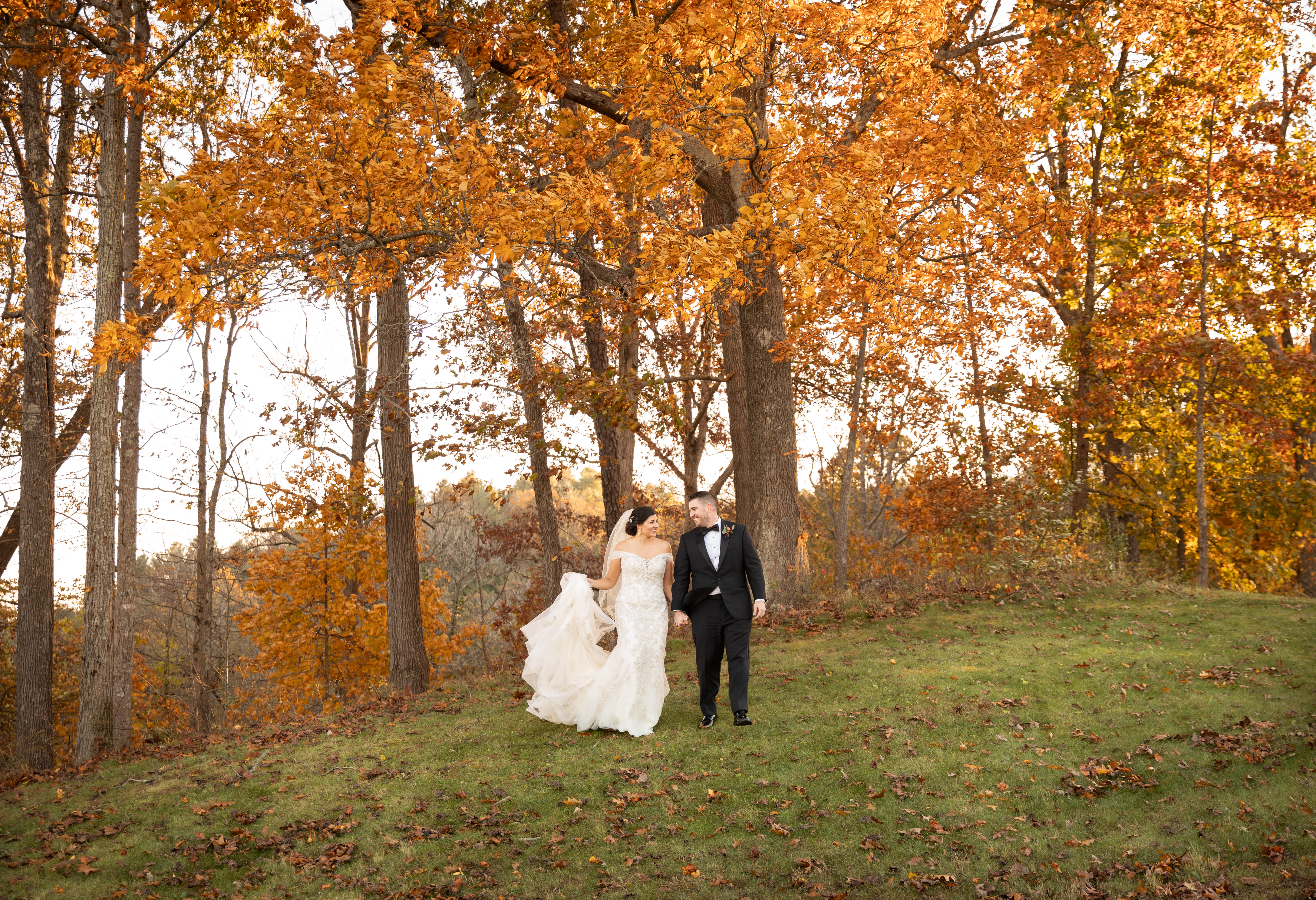 Fall Wedding in Asheville