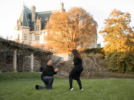 Proposal at The Biltmore:  William + Ronda